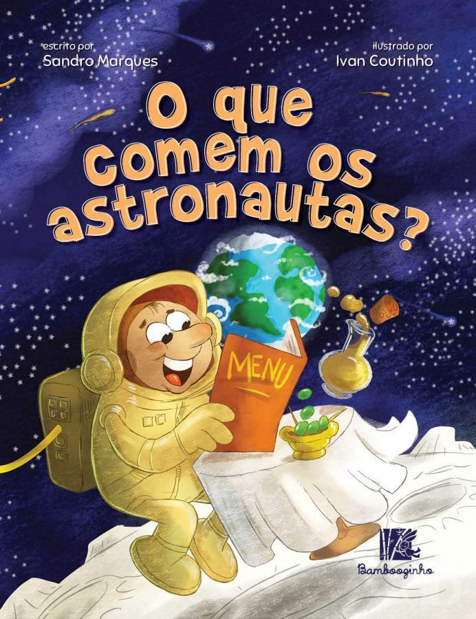 O que comem os astronautas