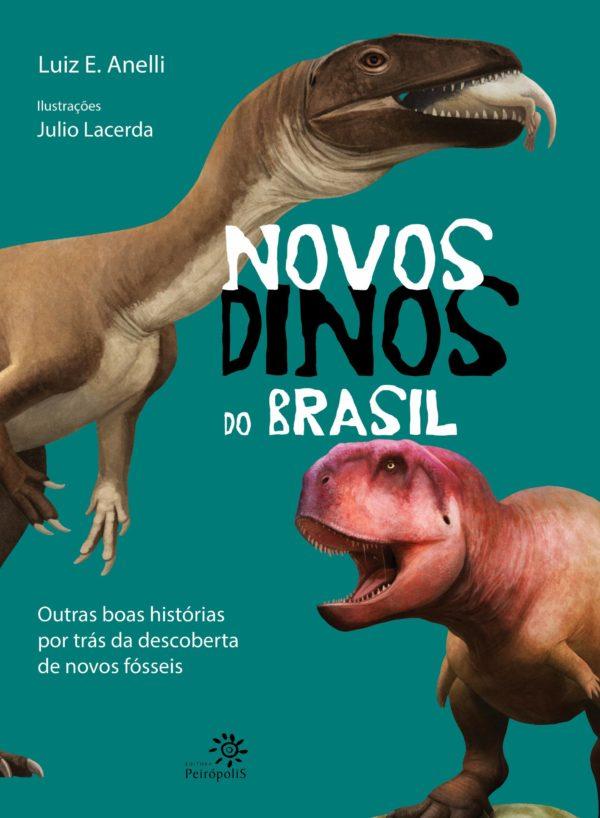 livro novos dinos do brasil