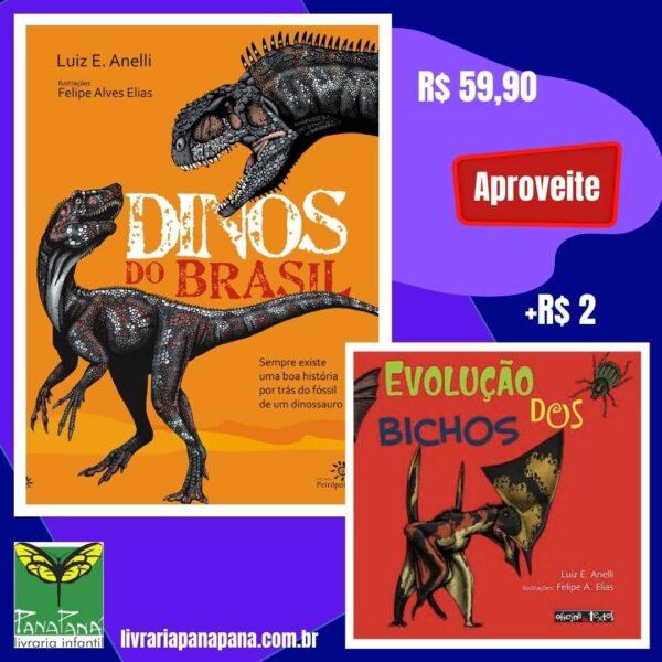livro dinos do brasil promoção