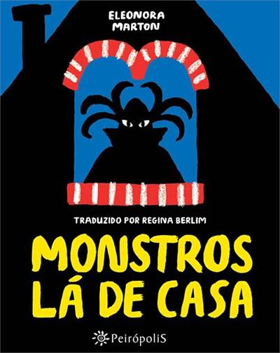 livro monstros la de casa